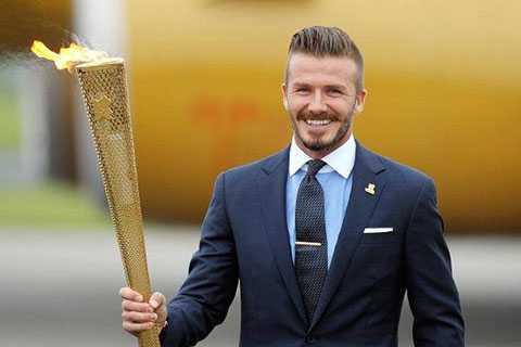Beckham rước đuôc Olympic