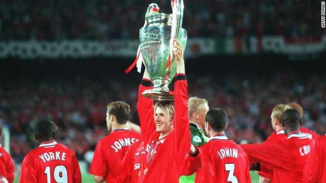 Beckham giương cao danh hiệu vô địch