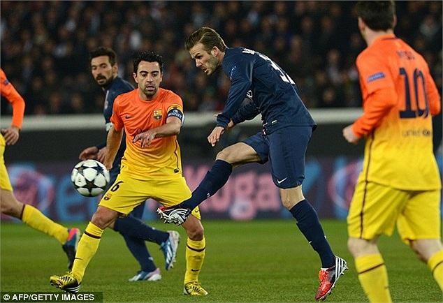 Những đường chuyền của Beckham vẫn có độ chuẩn xác cao. Nhưng mức độ nguy hiểm hay đưa đồng đội vào thế thuận lợi thì không còn nhiều.