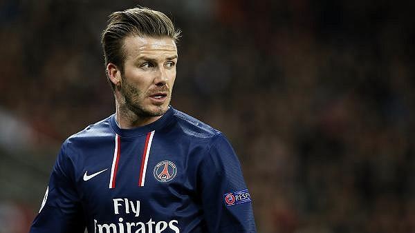 Nhìn chung vai trò của Beckham trong trận đấu là khá mờ nhạt.