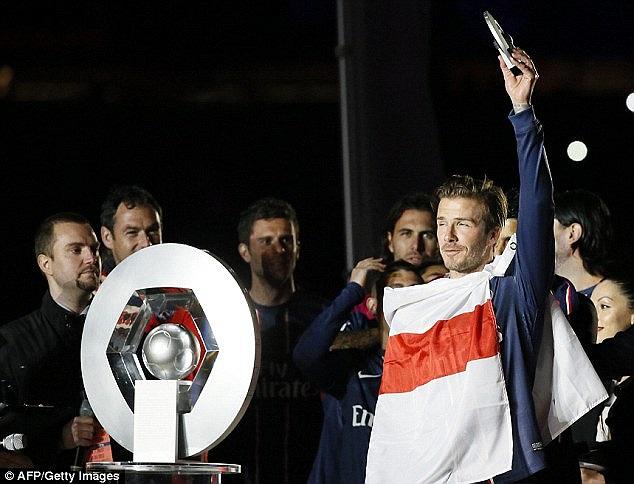 Becks là cầu thủ người Anh đầu tiên vô địch ở 4 quốc gia khác nhau