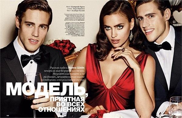 Bà Dolores từng tuyên bố nếu Ronaldo còn yêu Irina thì cô liệu hồn mà tránh xa những hình ảnh tình tứ kiểu thế này