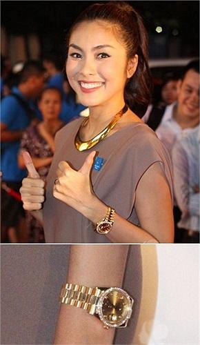 Sau đám cưới, Tăng Thanh Hà khiến nhiều người choáng khi đeo chiếc đồng hồ có già hơn 1 tỷ đồng.