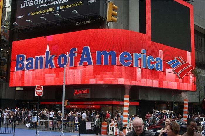 Bank of America (New York, Mỹ): 31.1 tỷ USD của 162 gia đình