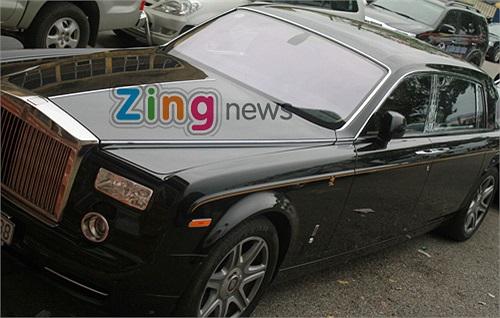 Giá chiếc xe vào khoảng gần 40 tỷ đồng