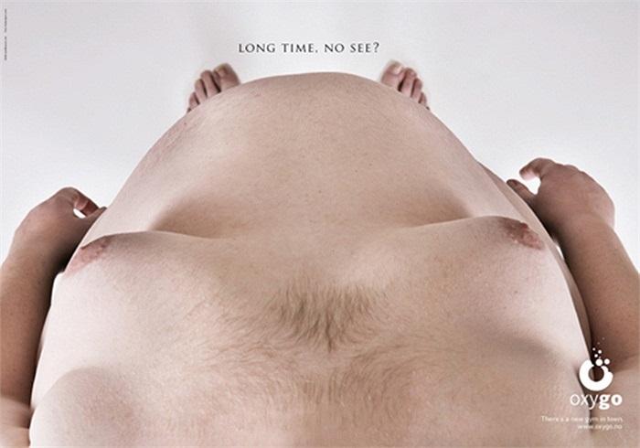 'Chà, lâu ngày không gặp' (ý chỉ đôi chân). - Quảng cáo khá hài hước tại một phòng tập ở Na Uy.