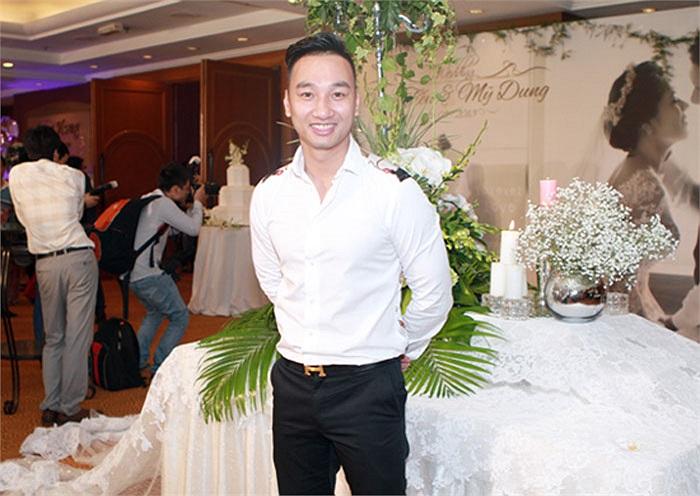 Diễn viên Thành Trung, bạn thân của Mỹ Dung cũng đến dự