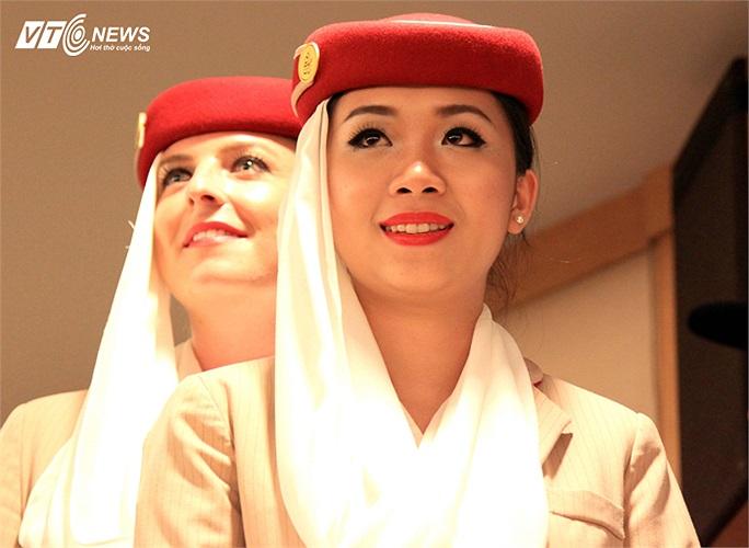 Kể từ ngày ra nhập dàn tiếp viên của Emirates, Tường Vi mới chỉ 8 lần về nước. Thời gian phần lớn của cô là ở Dubai. Ảnh: Quang Minh