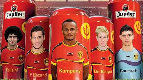 Hiện Bỉ đang dẫn đầu bảng đấu ở vòng loại World Cup.