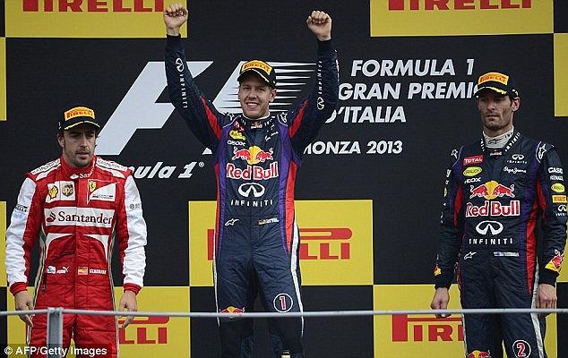 Đây là lần thứ 55 Vettel có mặt trên bục podium và là lần thứ 32 anh vô địch chặng trong sự nghệp vẻ vang của mình. Với phong độ cao, Vettel đang hướng đến ngôi vô địch đua xe F1 thế giới năm thứ 4 liên tiếp.