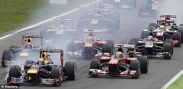 Red Bull tiếp tục dẫn đầu BXH các đội đua.