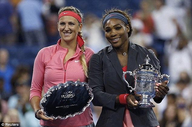 Đánh bai Azarenka, Serena Williams giành chức vô địch Mỹ mở rộng lần thứ 5 trong sự nghiệp. Tỷ số các set là 7-5,6-7,6-1.