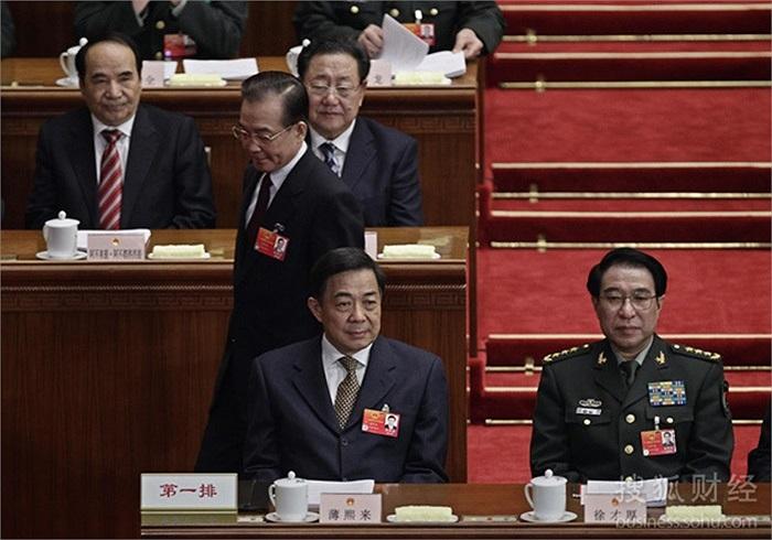 Ngày 5/3/2012, Bạc Hy Lai trong phiên khai mạc quốc hội cùng thủ tướng Ôn Gia Bảo