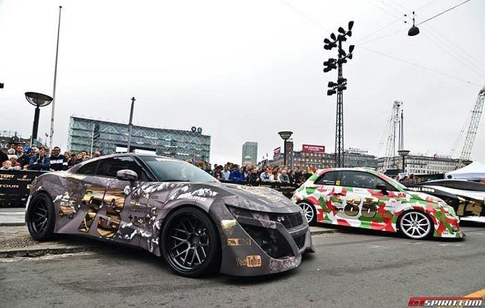Đại hội siêu xe với hành trình dài 3.000 dặm vừa bắt đầu từ ngày hôm qua, 19/5 tại Copenhagen, Đan Mạch.
