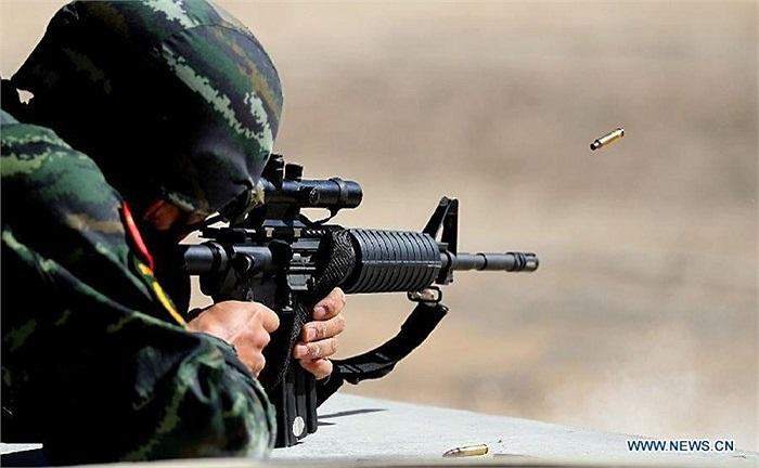 Đây là cuộc thi có tên Warrior Competition - Quân nhân tranh tài lần thứ 5