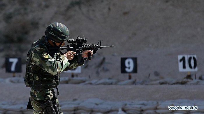 Nội dung bắn súng trường của cuộc thi