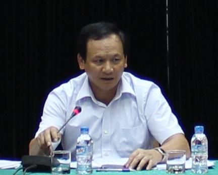 Ông Nguyễn Nhật – Cục trưởng Cục Hàng hải