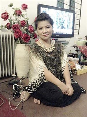 NSND Thanh Hoa và giọng ca đẹp cùng năm tháng.