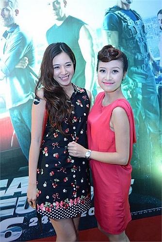 Hotgirl Hà Min có phần kín đáo và nhí nhảnh hơn.