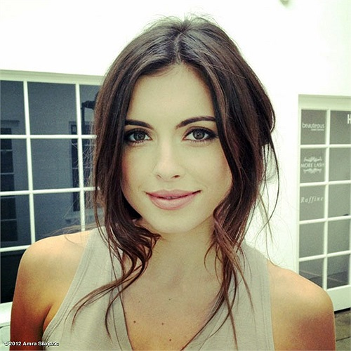 Amra Silajdzic, bạn gái của Edin Dzeko
