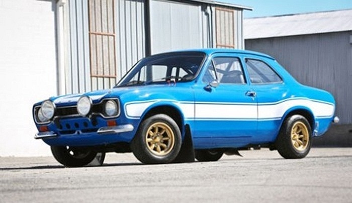 Ford Escort RS1600.