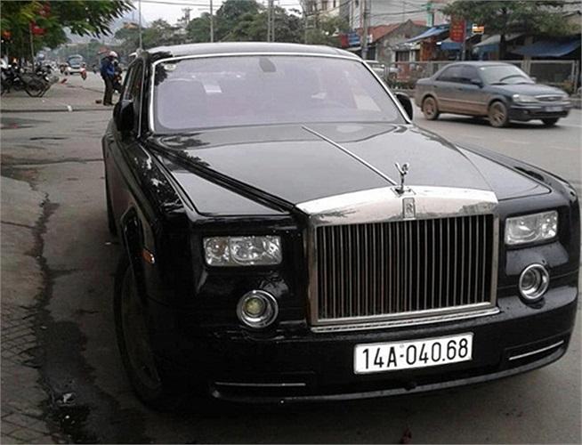 Rolls-Royce Phantom phiên bản rồng của đại gia đất mỏ.