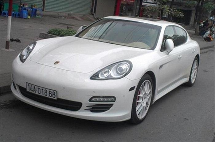 Porsche Panamera Turbo S.