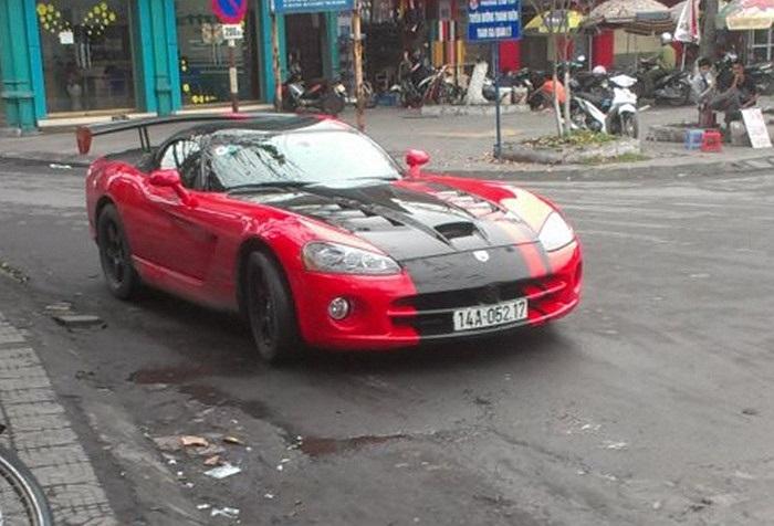 Xe thể thao hàng hiếm Dodge Viper.