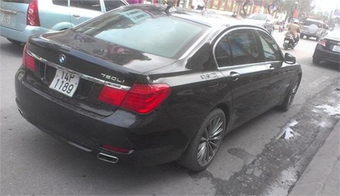 Mẫu sedan hạng sang BMW 760Li.