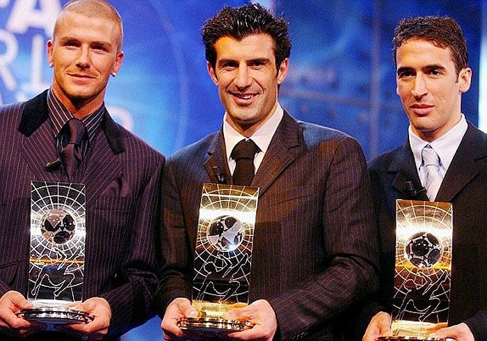 Anh cũng 2 lần giành danh hiệu Quả bóng bạc thế giới, vào các năm 1999 và 2001