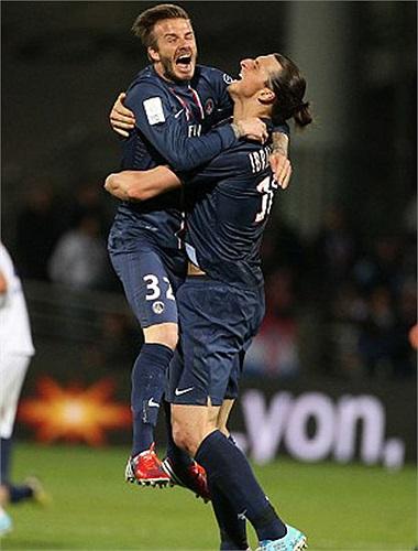 Đội bóng cuối cùng Beckham khoác áo là PSG