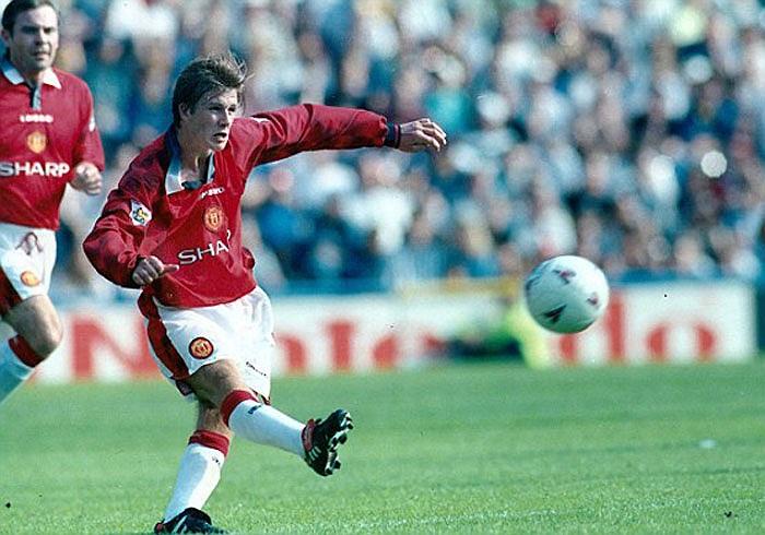 Tuy nhiên, mọi người chỉ bắt đầu để ý đến Beckham sau siêu phẩm lốp bóng từ giữa sân vào lưới Wimbledon năm 1997