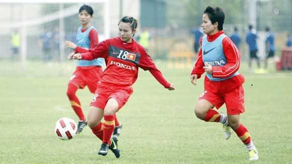 Nguyễn Liễu(18) trong màu áo đội tuyển