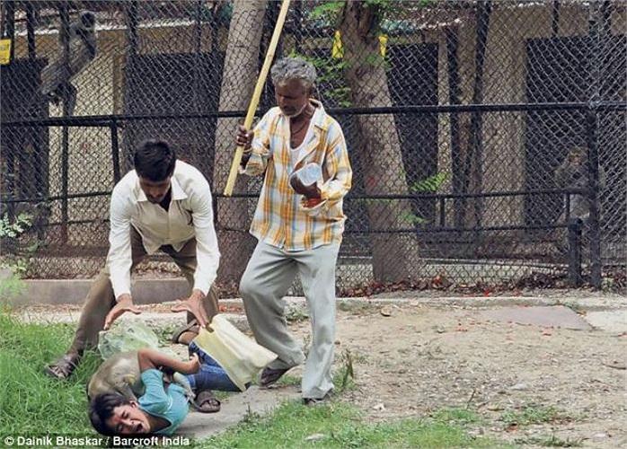 Nạn nhân là cậu bé tên Raghav, đã bị thương khá nặng sau vụ tấn công.