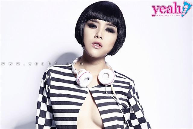 DJ Myno hững hờ vòng 1 trong hình tượng mới với mái tóc ngắn nhuộm nâu