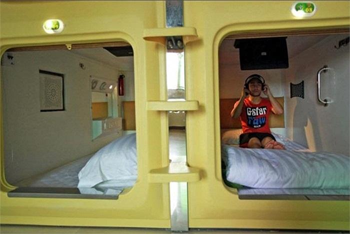 Khách nghỉ ngơi trong căn phòng đặc biệt