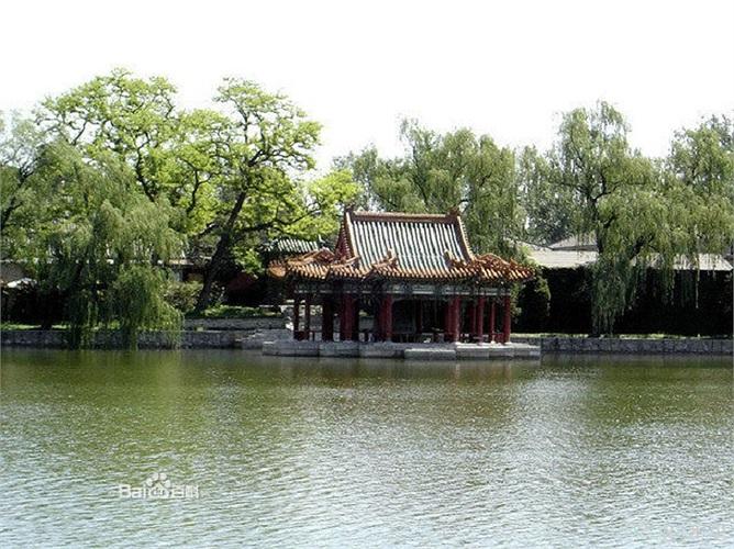 'Vườn trong vườn' là điểm độc đáo nhất trong kiến trúc của Trung Nam Hải.