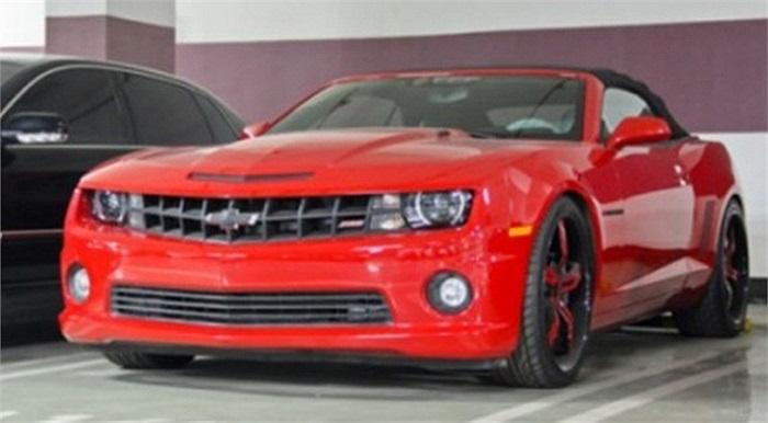 'Hàng hiếm' Chevrolet Camaro Convertible với bộ bodykit Hennessey.