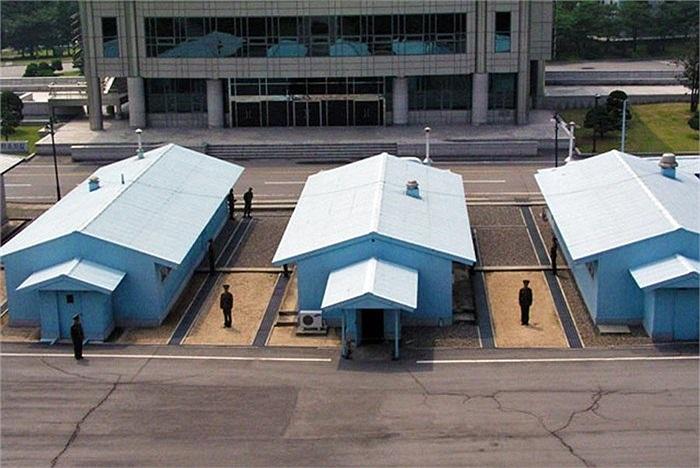 Khu vực đường biên giới chung giữa 2 miền Triều Tiên