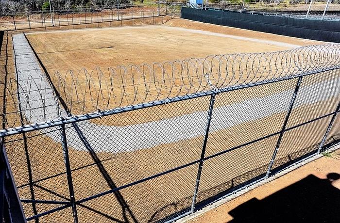 Sân tập của các tù nhân ở Guantanamo