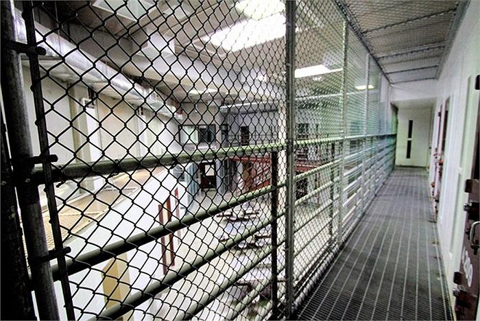 Một góc trong khu giam giữ của nhà tù