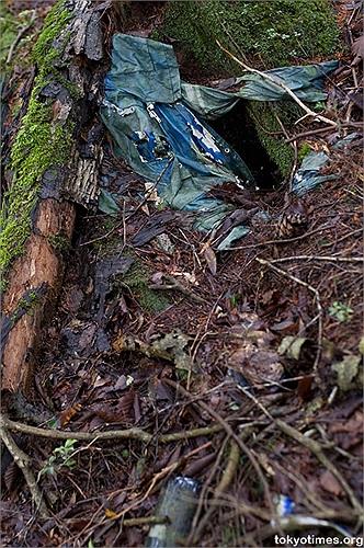 Nhiều tòa nhà được xây dựng quanh bìa rừng để lưu giữ thi thể, hài cốt của những người tự tử vô thừa nhận.