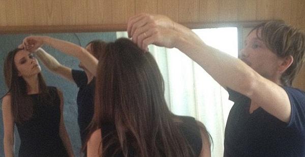 Tối hôm qua, Vic cùng nữ diễn viên nổi tiếng Eva Longoria và nhà tạo mẫu tóc Ken Paves rủ nhau đi ăn tối.