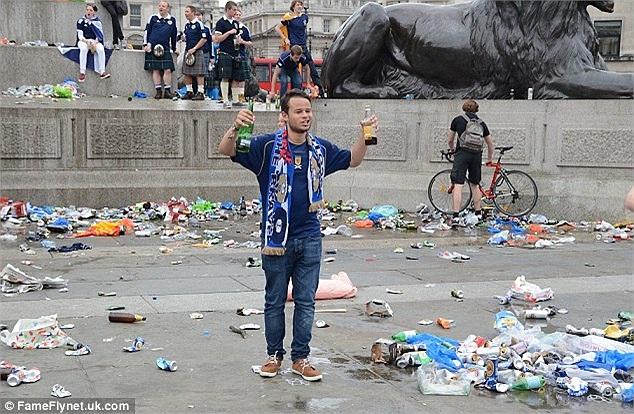 Fan Scotland đại náo London