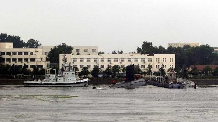 Còn đây là tàu ngầm diesel/điện lớp Song/Kiểu 039 của Hải quân Trung Quốc