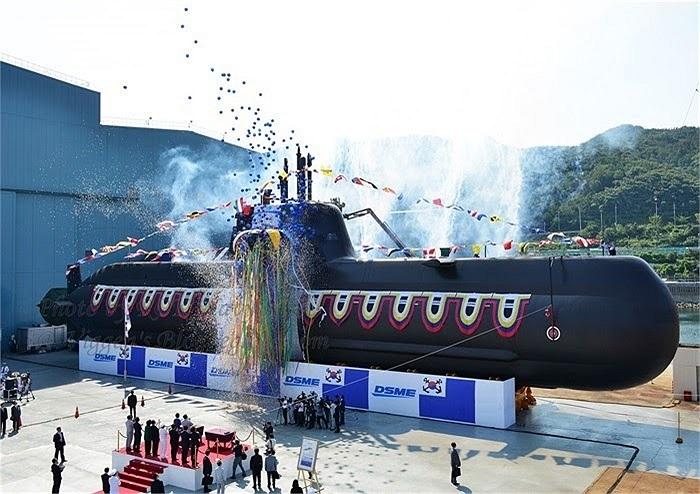Tàu ngầm diesel/điện kiểu 214 của Hải quân Hàn Quốc