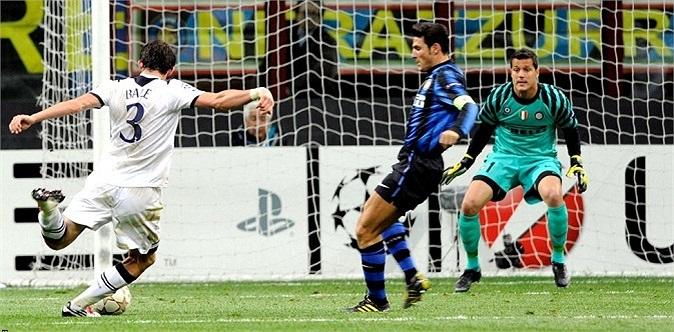 6 tháng sau đó, Bale có hattrick đầu tiên trong sự nghiệp của mình vào lưới Inter Milan, khi đó đang là đương kim vô địch châu Âu, tại Champions League.