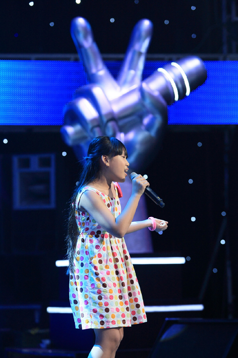 Phuong Nhi The voice