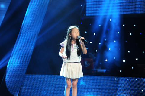 Thu Ha The voice kids