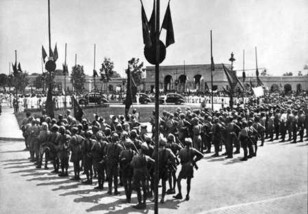 Quảng trường Ba Đình ngày 2/9/1945.